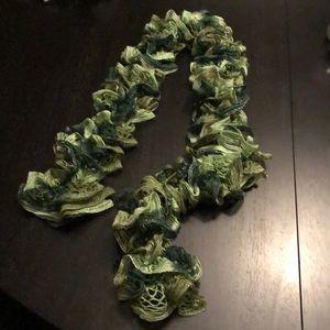 Accessories - Handmade ruffle sashay scarf